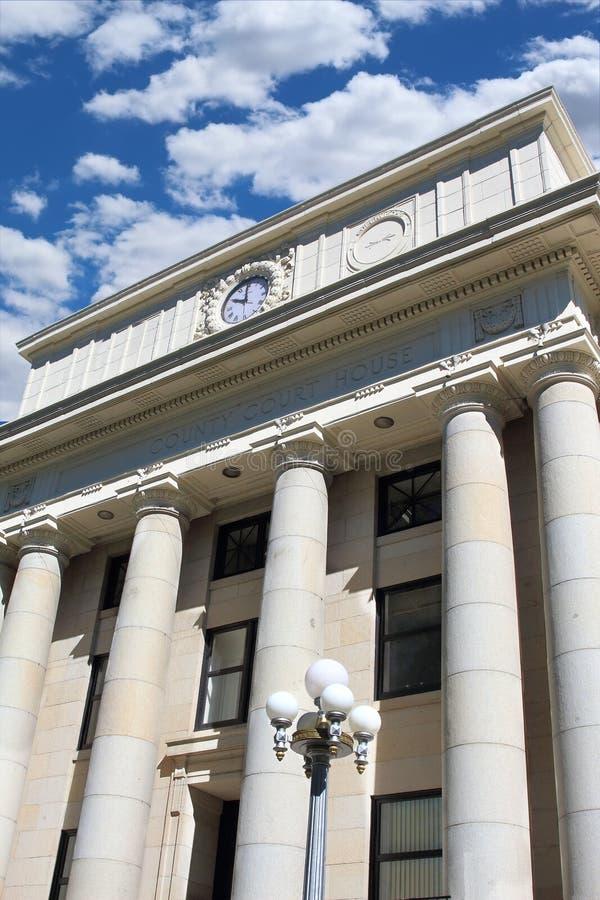 Tribunal da construção do governo imagens de stock royalty free