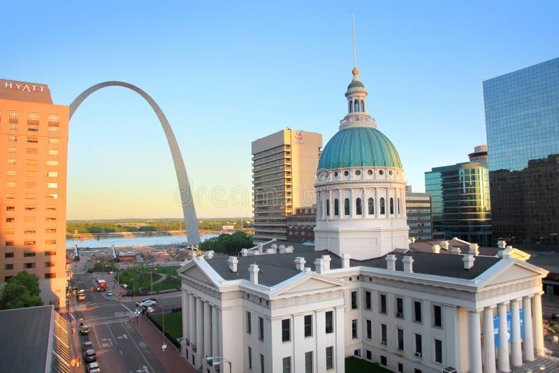 Tribunal dans le Saint Louis image libre de droits