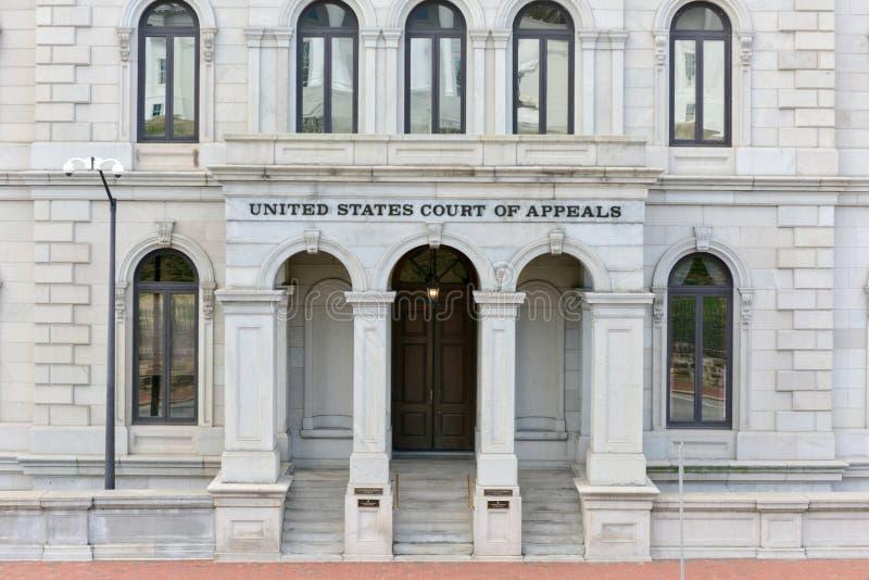 Tribunal de apelación - Richmond, Virginia de los E.E.U.U. imagen de archivo