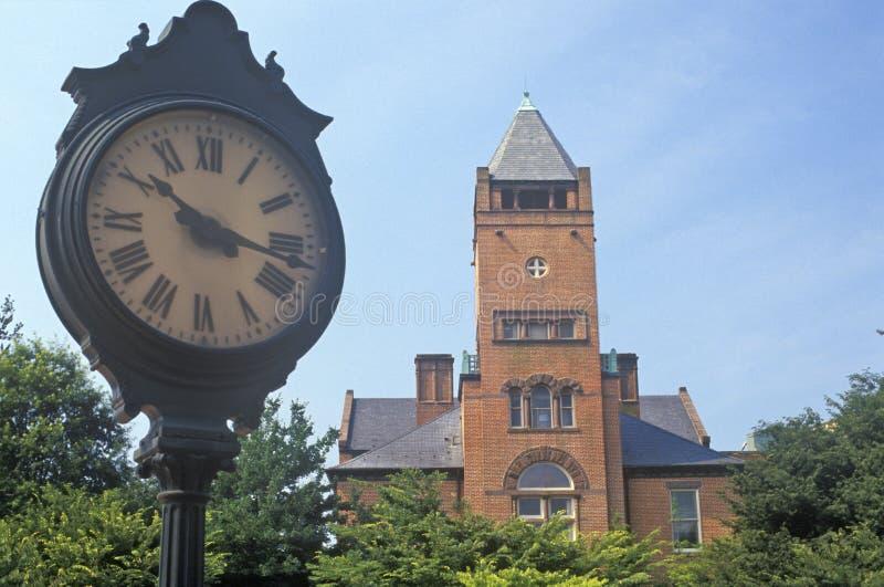 Tribunal de brique rouge, Rockville, le Maryland images stock