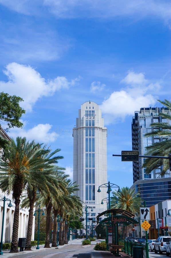 Tribunal de Condado de Orange, Orlando, la Florida imágenes de archivo libres de regalías