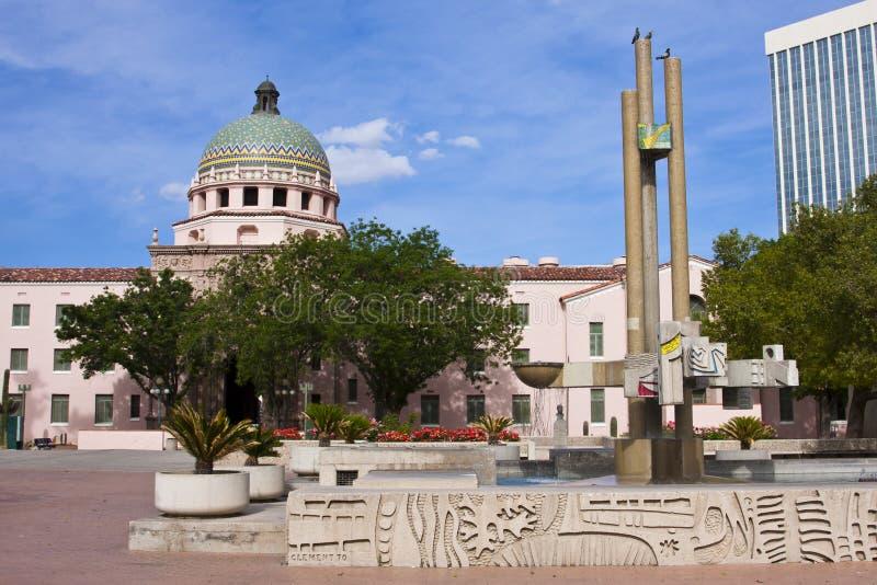 Tribunal de condado de Pima imagens de stock royalty free