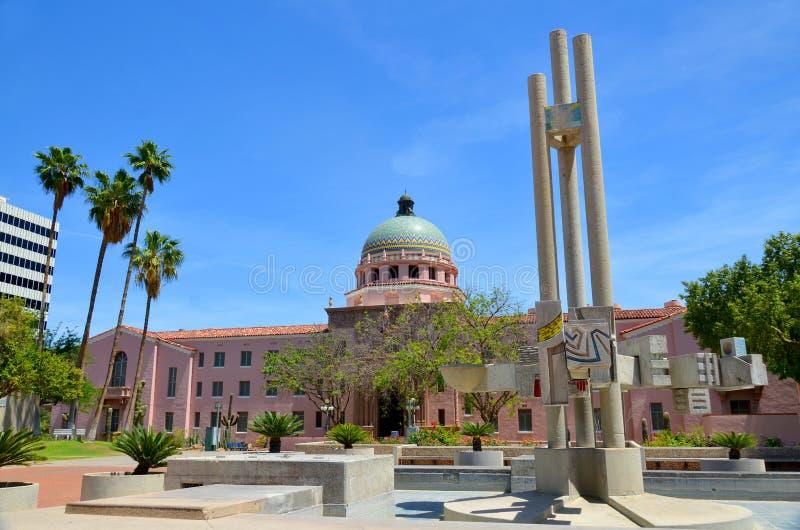 Tribunal de condado de Pima imagem de stock