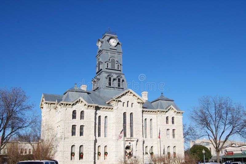 Tribunal de Granbury Texas imagens de stock