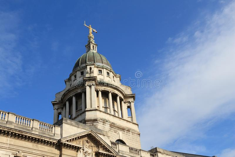 Tribunal de Londres photos stock