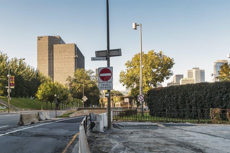Tribunal de Montreal en Montreal vieja fotos de archivo