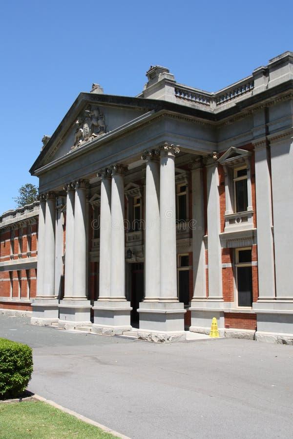 Tribunal de Perth fotografia de stock