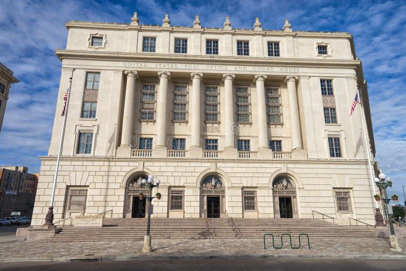 Tribunal de San Antonio Texas imagenes de archivo