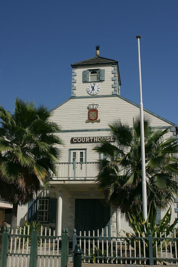 Tribunal de St. Maarten fotografia de stock royalty free