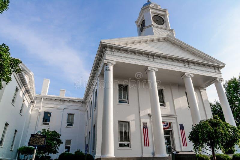 Tribunal do Condado de Lafayette fotos de stock royalty free