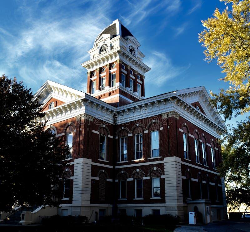 Tribunal do Condado de Saline imagem de stock