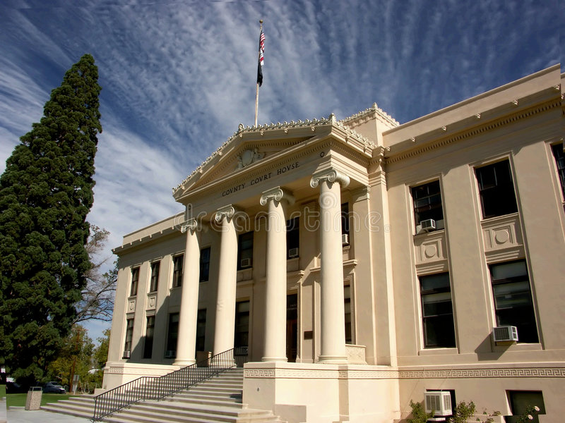 Tribunal du comté photos stock