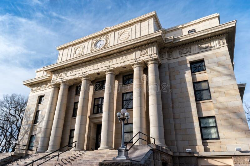 Tribunal du comté dans le Prescott, Arizona photographie stock libre de droits