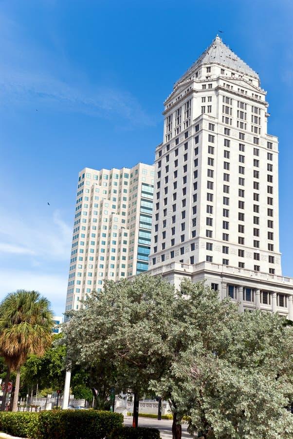 Tribunal du comté de 1925, à Miami photographie stock