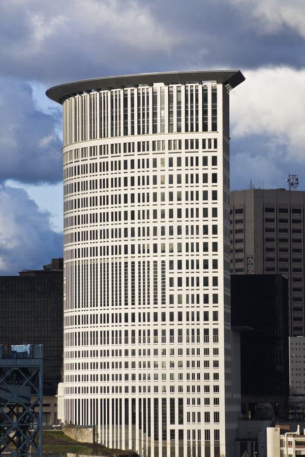 Tribunal em Cleveland foto de stock royalty free