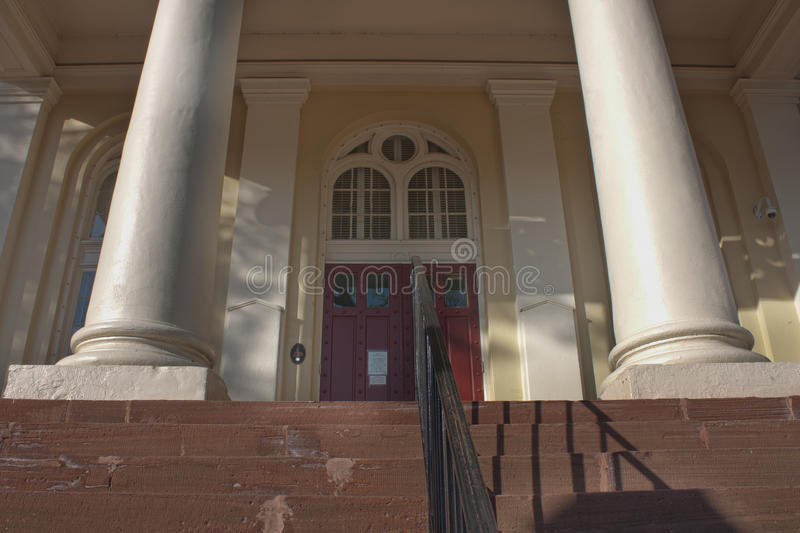 Tribunal em Warrenton, Virgínia foto de stock