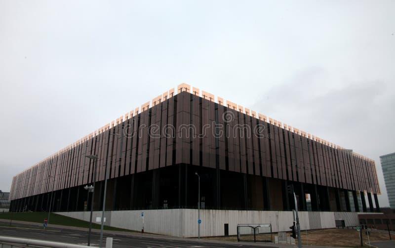Tribunal Europeo de la justicia fotografía de archivo