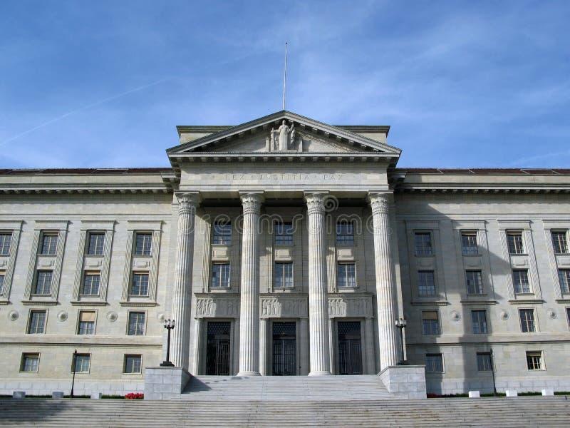 Tribunal fédéral, Lausanne, ch images libres de droits