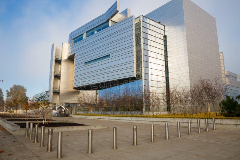 Tribunal federal Eugene Oregon imágenes de archivo libres de regalías