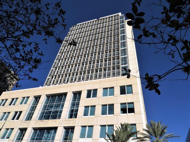 Tribunal federal, Tampa imágenes de archivo libres de regalías