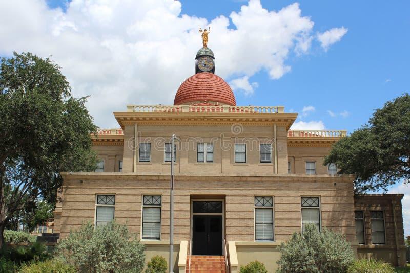 Tribunal historique Beeville le Texas du comté de Bee image stock