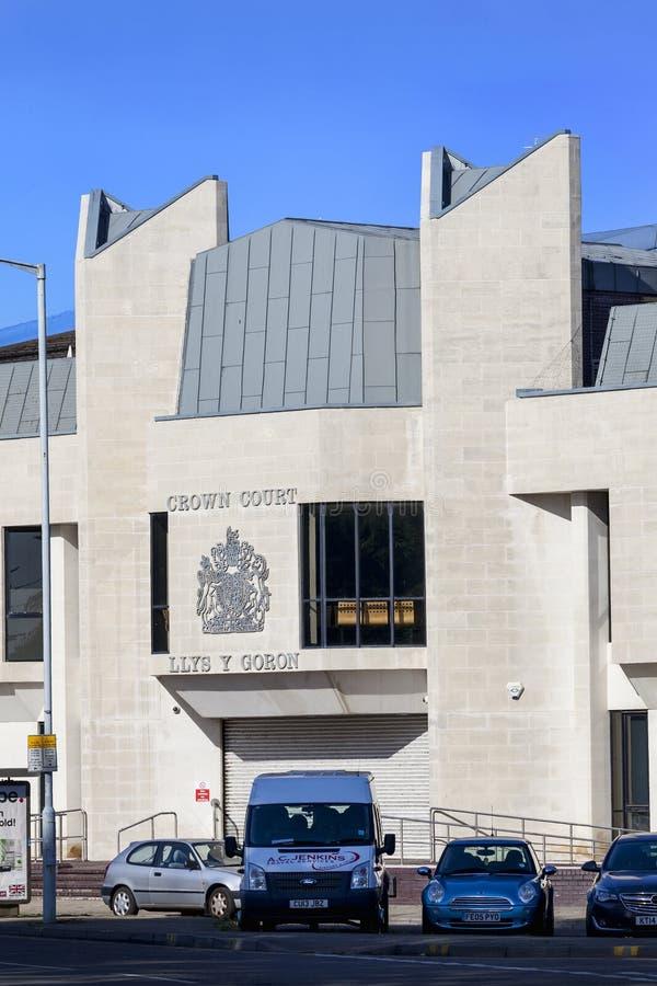 Tribunal Pénal de Swansea photos libres de droits
