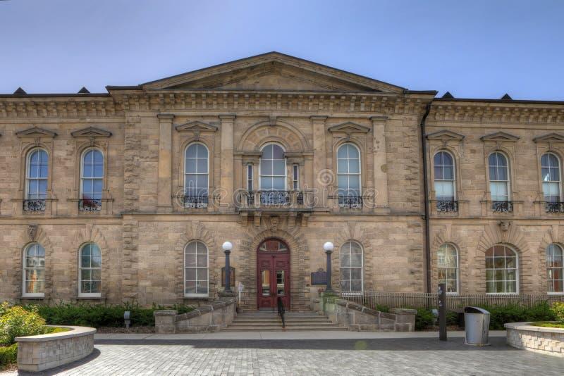 Tribunal provincial de las ofensas, antes viejo ayuntamiento Guelph adentro fotos de archivo