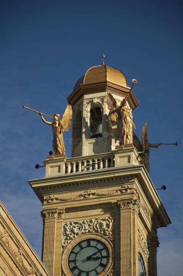 Tribunal rigide du comté, Ohio photo stock