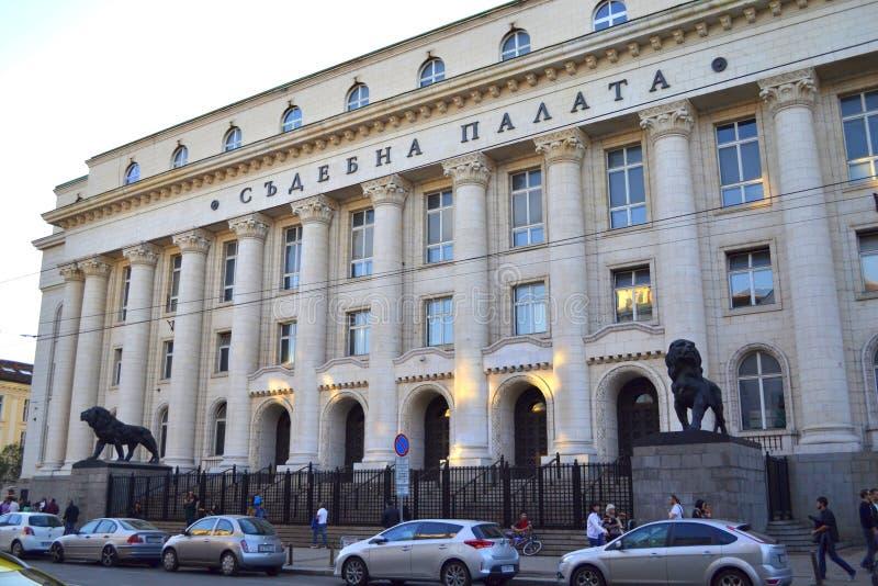 Tribunal, Sofía, Bulgaria fotografía de archivo
