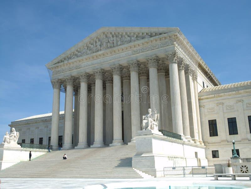 Tribunal Supremo de Estados Unidos imágenes de archivo libres de regalías