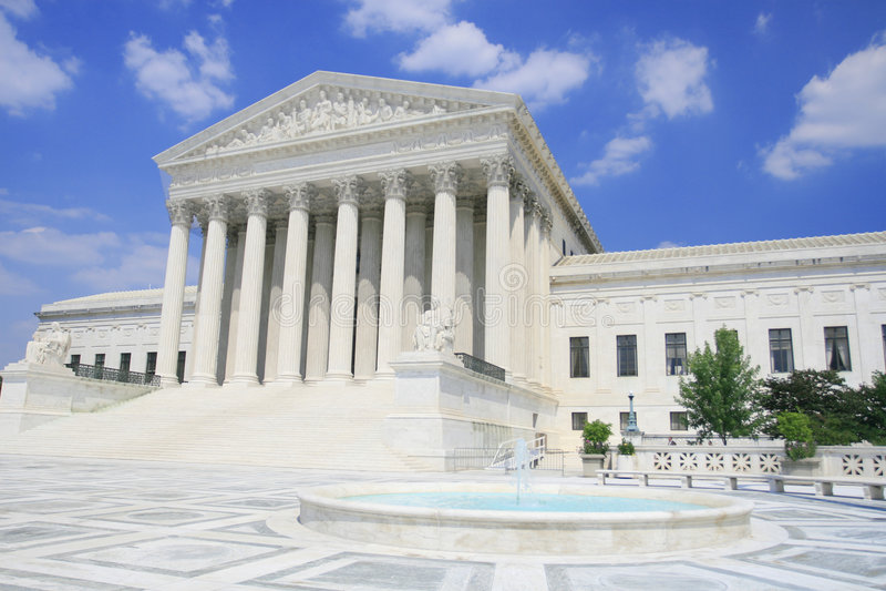 Tribunal Supremo de los E.E.U.U. imagen de archivo