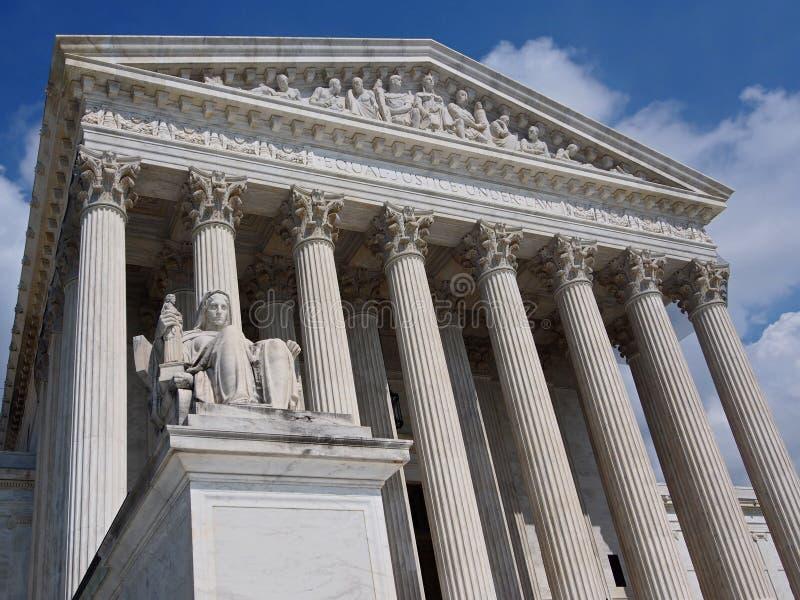 Tribunal Supremo de los Estados Unidos fotos de archivo libres de regalías