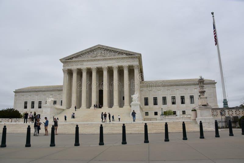 Tribunal Supremo de los Estados Unidos imagenes de archivo