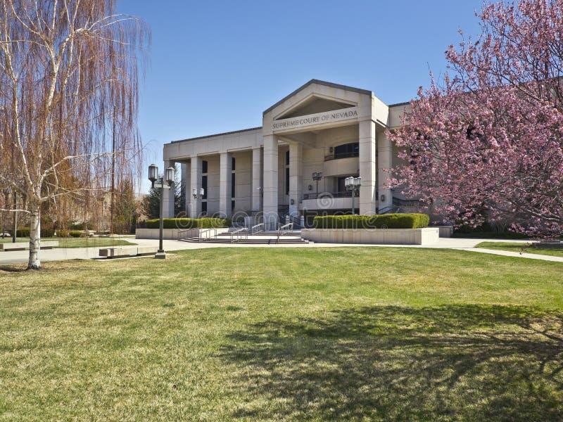 Tribunal Supremo de Nevada, ciudad de Carson, Nevada imagen de archivo libre de regalías