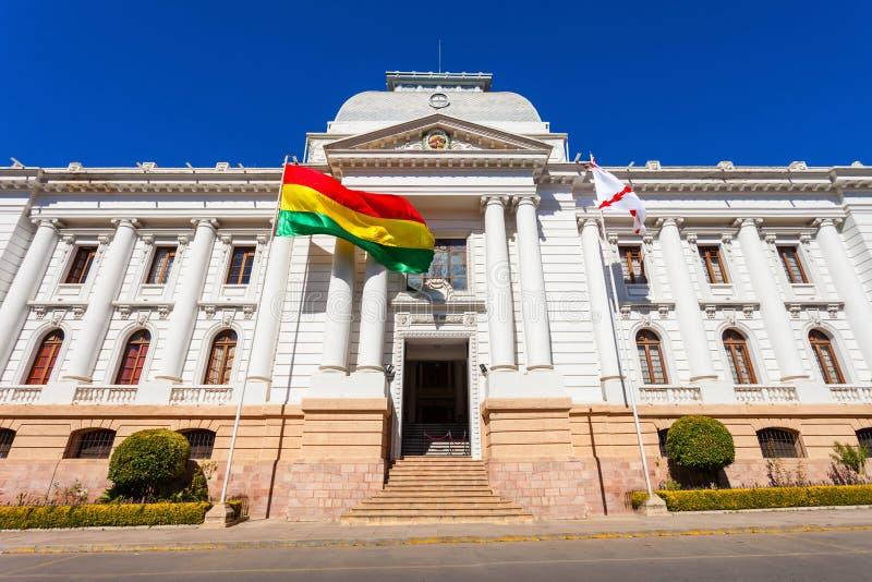Tribunal Supremo, Sucre fotografía de archivo