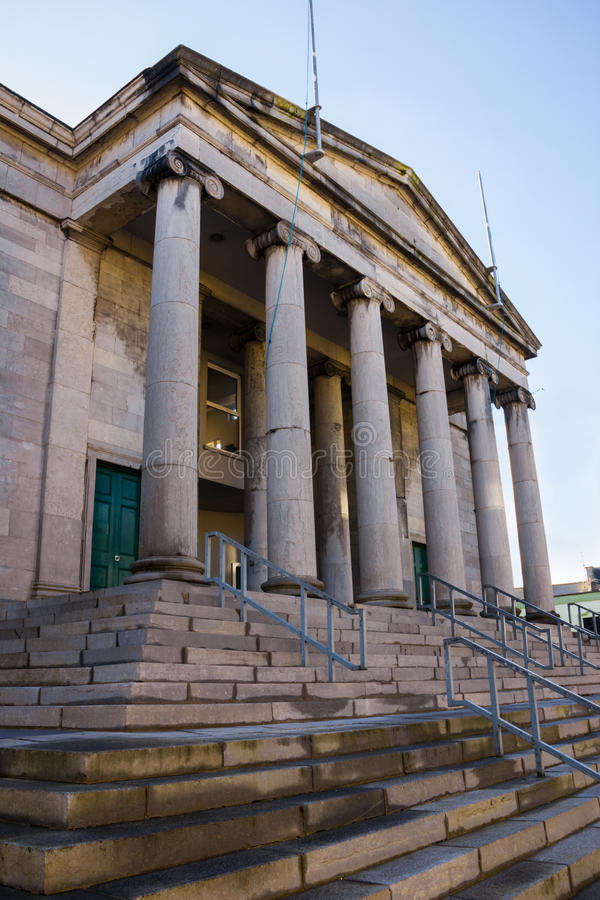 tribunal tralee l'irlande photo stock