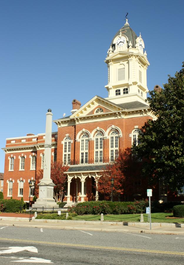 Tribunal velho de Monroe fotografia de stock royalty free