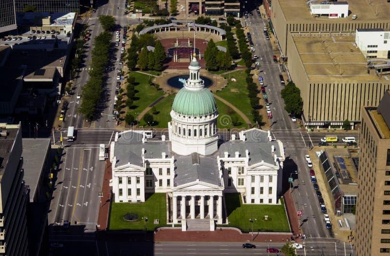 Tribunal viejo, St. Louis, MES imagen de archivo libre de regalías