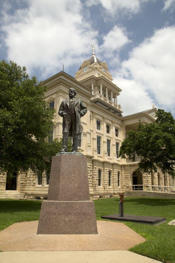 Tribunale della contea di Bell del monumento storico fotografia stock libera da diritti