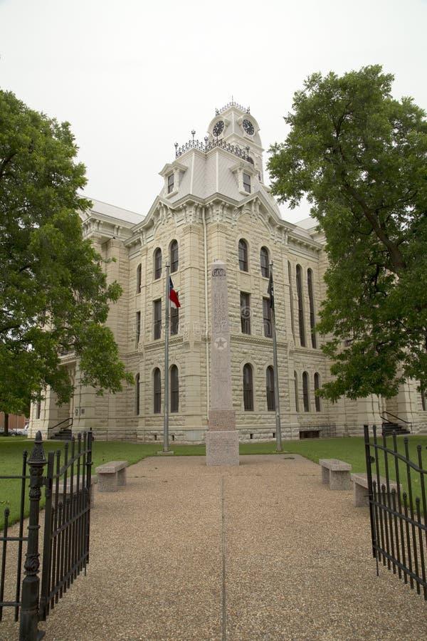 Tribunale della contea di Hill del monumento storico fotografie stock libere da diritti