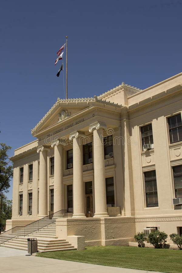 Tribunale della contea di Inyo fotografia stock