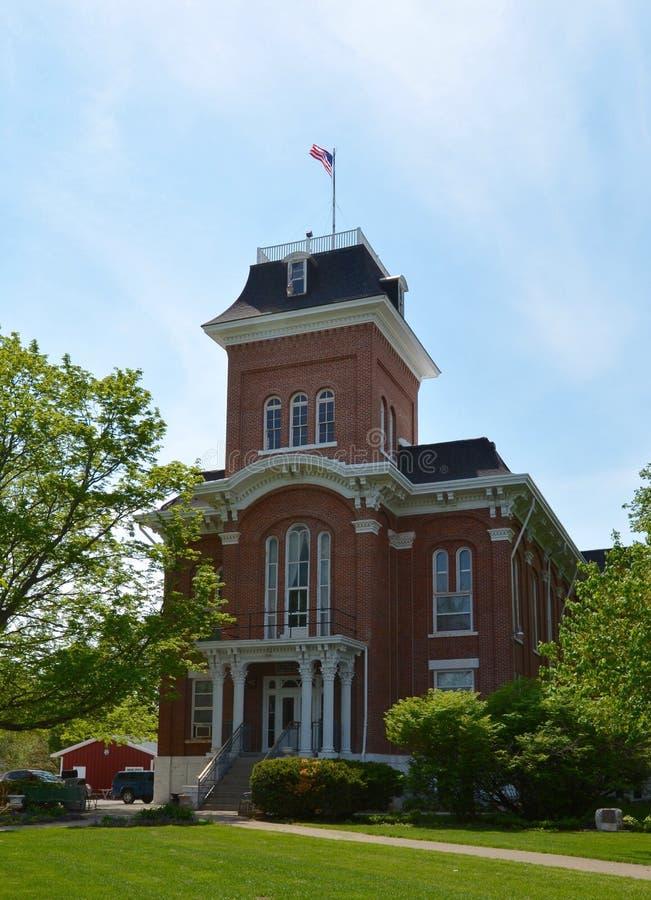 Tribunale della contea di Iroquois fotografia stock libera da diritti