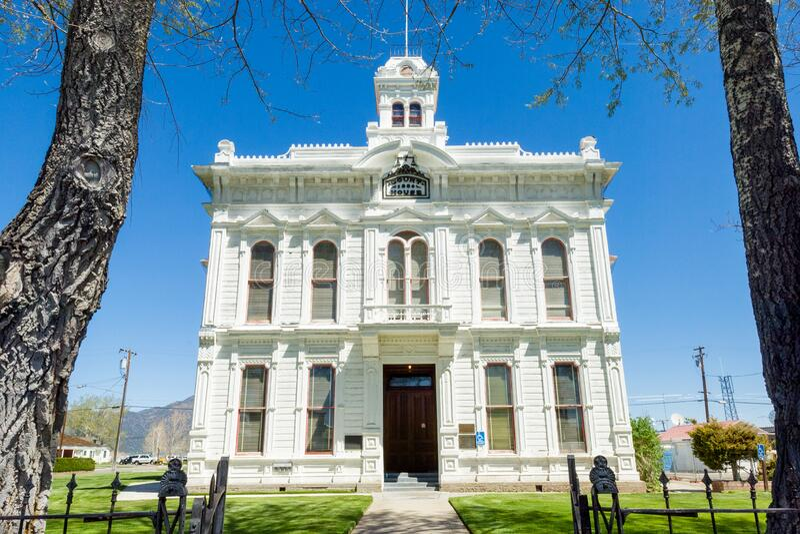 tribunale della contea di Mono immagini stock libere da diritti