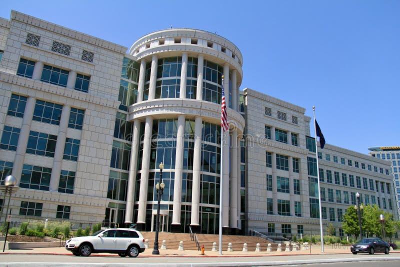 Tribunale dello Scott Matheson fotografia stock libera da diritti