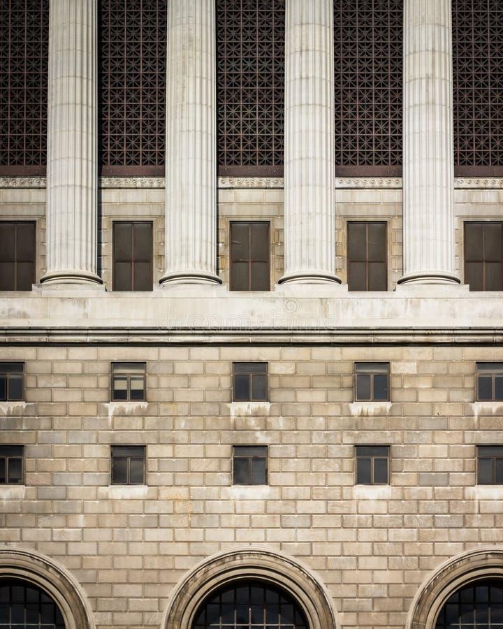 Tribunale di Milwaukee immagine stock libera da diritti