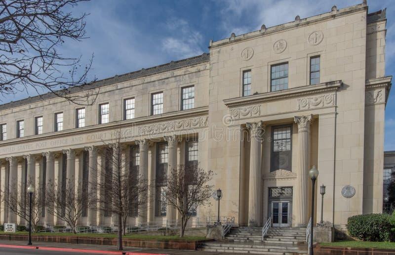 Tribunale di prima istanza degli Stati Uniti in Beaumont il Texas immagine stock libera da diritti