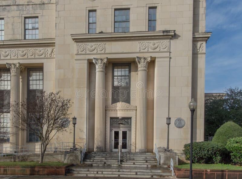 Tribunale di prima istanza degli Stati Uniti in Beaumont, il Texas fotografie stock libere da diritti