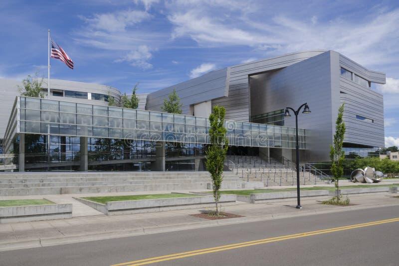 Tribunale di Wayne Lyman Morse Stati Uniti immagini stock