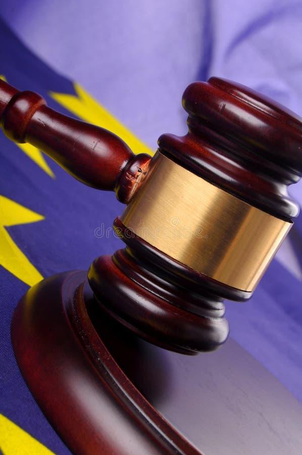 Tribunale europeo fotografie stock libere da diritti