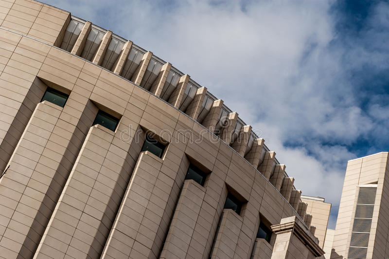 Tribunale federale Kansas City Missouri immagine stock libera da diritti